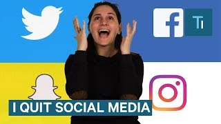 Video I Quit Social Media For 1 Month — And It Was The Best Choice I Ever Made MP3, 3GP, MP4, WEBM, AVI, FLV Januari 2019