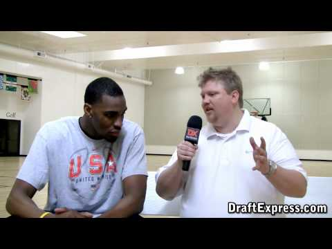 DraftExpress Exclusive: Jarvis Varnado Pre-Draft Interview & Workout Footage