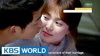 Video KBS WORLD e-TODAY : Behind Stories on Song Joongki-Song Hyekyo Couple [ENG/2017.07.06] MP3, 3GP, MP4, WEBM, AVI, FLV April 2018