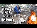 Building Fire Pit and Fire Competition - Our Journey :: Episode #83