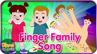 Video Diva Finger Family Song -  Lagu Jari Jariku bersama Diva | Diva bernyanyi | Diva The Series Official MP3, 3GP, MP4, WEBM, AVI, FLV September 2018