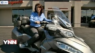 10. Can-Am Spyder: Motorcycle Review by Lauren Fix