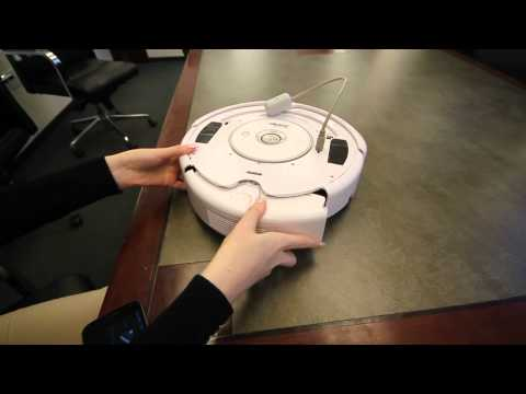Video of Roomba Driver