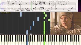 В горнице (Дети поют) (Ноты для фортепиано) (piano cover)