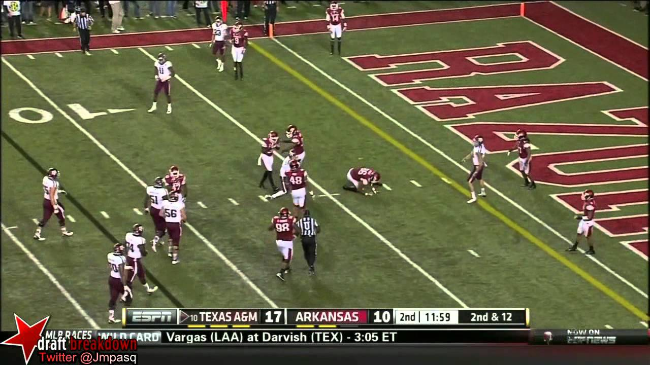 Johnny Manziel vs Arkansas (2013)