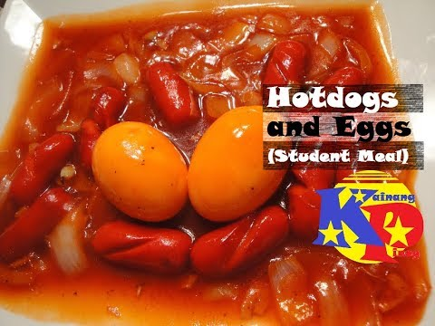 Hotdogs and Eggs (Student Meal)