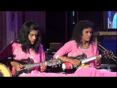 Manam movie song by Mandolin Sisters Sreeusha & Sireesha