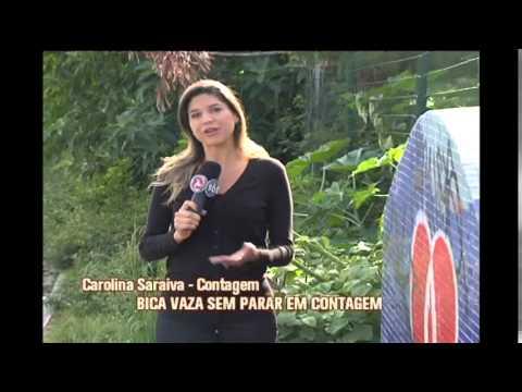 Bica vaza sem parar e desperdiça água em Contagem