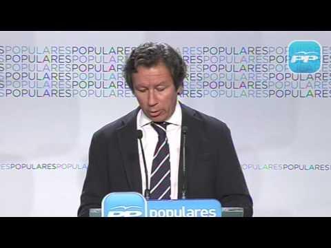 Floriano: El PP seguirá dando una pelea sin cuartel al drama del desempleo