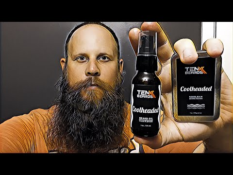 TenX Beards Review  Beard Balm  Beard Oil