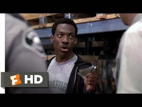 Beverly Hills Cop (6/10) Movie CLIP - Customs Inspector (1984) HD