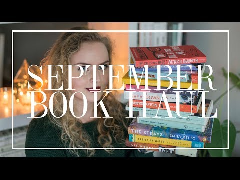 September Book Haul | The Book Castle