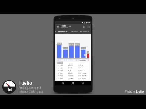 Video of Fuelio: Fuel log & costs