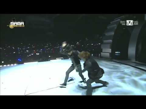 엑소(exo) - 으르렁(growl) + 늑대와 미녀(beauty And The Beast) At 2013 Mama