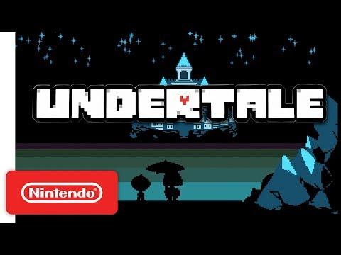 Undertale - Release Trailer - Nintendo Switch (видео)