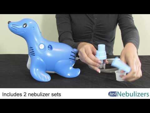 Just Nebulizers: Sami the Seal Nebulizer Compressor