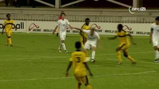 EMTV & OFC TV Production - Copyright OFC TV © May 2016. Favourites New Zealand defeat Vanuatu 5-0 at the OFC Nations Cup in Port Moresby's Sir John Guise Sta...