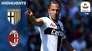 Video Parma 1-1 Milan | Super Alves Free Kick Levels Score Late On | Serie A MP3, 3GP, MP4, WEBM, AVI, FLV April 2019