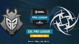 G2 vs NiP - ESL Pro League S8 EU - bo1 - de_inferno [Enkanis, ceh9]