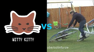 Homemade Hoverbike - Witty Kitty Reacts