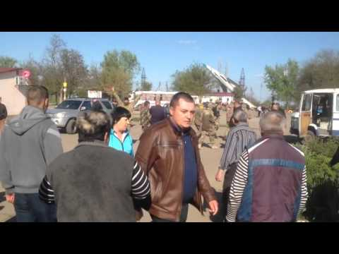 """Азов"" VS жители Лиманского"