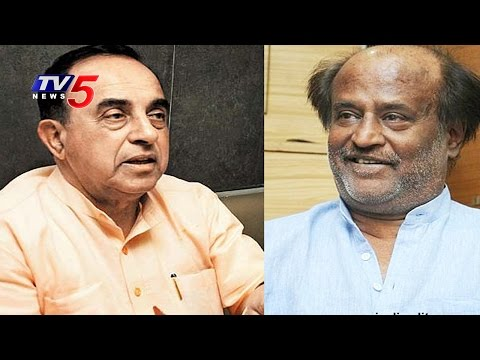 Rajinikanth and Other Tamil Film Actors are Chickens – BJP Subramanian Swamy