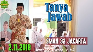 Video Tanya Jawab (SMAN 32 Jakarta, 2.11.2018) - Ustadz Abdul Somad, Lc., MA MP3, 3GP, MP4, WEBM, AVI, FLV November 2018