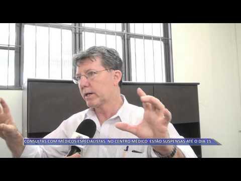JATAÍ | Consultas com especialistas estão suspensas até o dia 15, no Centro Médico