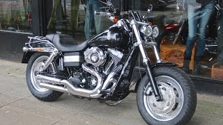 6. 2010 HARLEY-DAVIDSON DYNA FAT BOB | WILLIE G SPEC @ WCHD, Glasgow, Scotland
