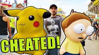 Video I CHEATED The CARNIVAL!... (Wasn't Supposed To Win These Prizes...) ArcadeJackpotPro MP3, 3GP, MP4, WEBM, AVI, FLV Maret 2019