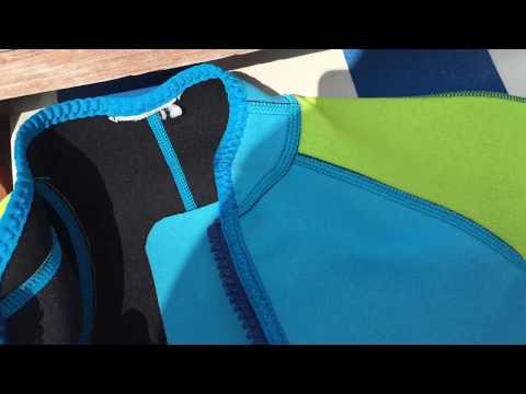 Decathlon Tribord Shorty 100 Kinder-Neoprenanzug