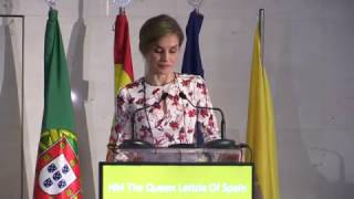 "Discurso de S.M. la Reina en la ""7th Conference on Tobacco or Health"""