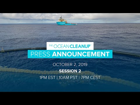 The Ocean Cleanup - Press Announcement - Session Two