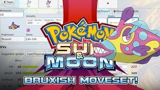 Bruxish Moveset Guide! How to use Bruxish! Pokemon Sun and Moon! by PokeaimMD