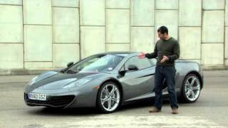 McLaren MP4-12C At The Track