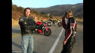2. 2009 Streetfighter Comparison: 2010 Ducati Streetfighter vs. 2008 Benelli TnT 1130