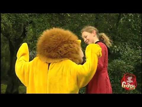 Escaped Lion Prank