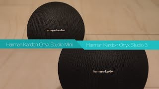 Harman Kardon Onyx Studio Mini vs Harman Kardon Onyx Studio3 | Bluetooth Speaker Review