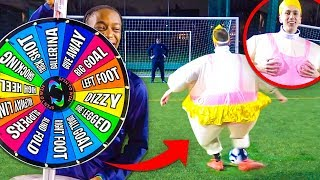 MYSTERY WHEEL FOOTBALL FORFEIT CHALLENGE