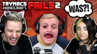 TRYMACS Minecraft FAILS.. Bringen Jodie und mich zum LACHFLASH