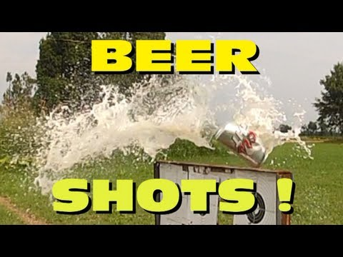 Benjamin Discovery-25, 50, 75 yard beer shots