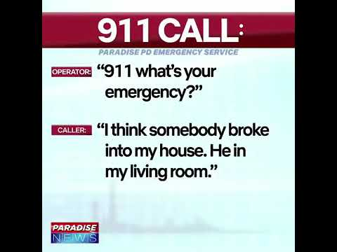 "Guy Calls 9/11 Over ""Rabid Dog"" In His House"