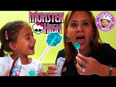 Monster High Popping Candy Dip Lolly - cooler Lutscher mit Knisterspaß - Kinderkanal