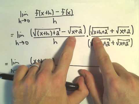 tangent - Definition of Derivative to Find Slope of Tangent Line.
