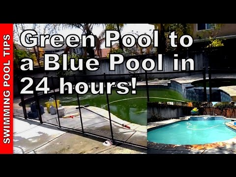 How to Clean a Green Pool Part 1 of 2