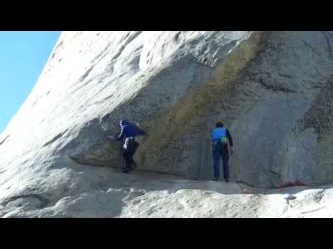 DAWN WALL Tommy Caldwell and Kevin Jorgeson 1st pitch