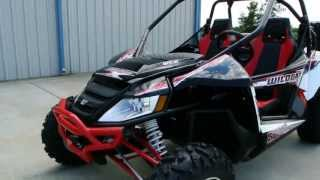 9. Review: 2013 Arctic Cat Wildcat X in Vibrant Red