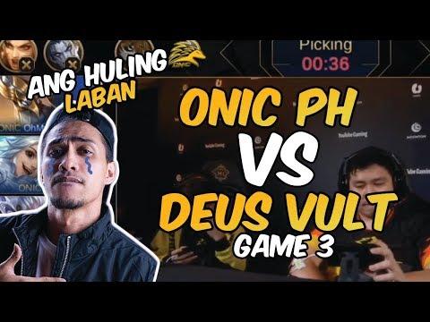 ANG HULING LABAN SA M1 - ONIC PH VS DEUS VULT - GAME 3