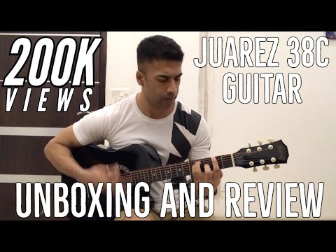 India's Cheapest Acoustic Guitar? Juarez 038C – Unboxing and Review