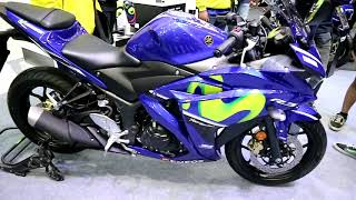8. New Yamaha YZF R3  Movistar 2018